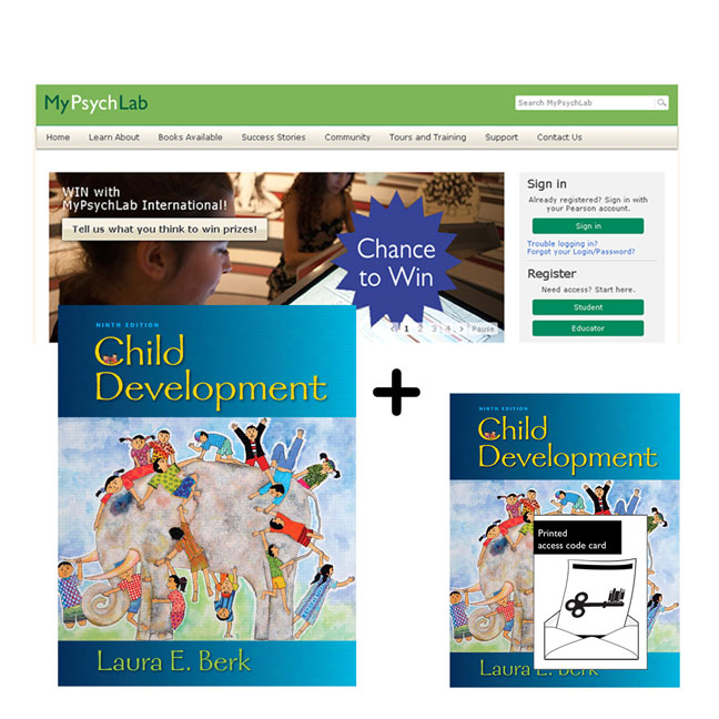 Child Development + MyLab Psychology with eText