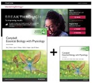 Value Pack Campbell Essential Biology with Physiology, Global Edition Plus Masteringbiology with Etext