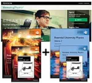 Value Pack Essential University Physics: Volumes 1 and 2, Global Edition Plus Masteringphysics with Etext