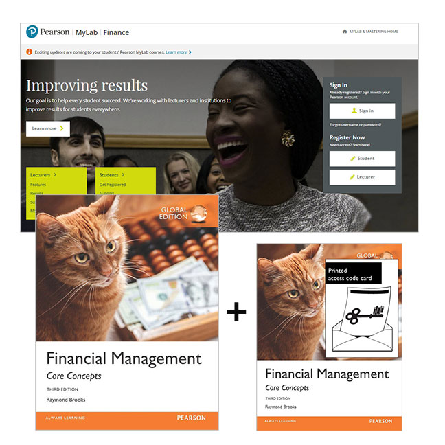 Financial Management: Core Concepts, Global Edition + MyLab Finance with eText