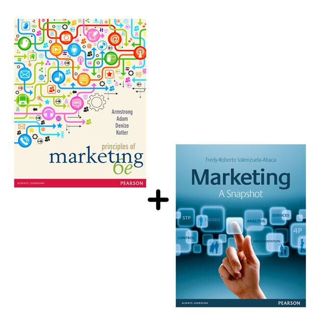 Principles of Marketing + Marketing a Snapshot