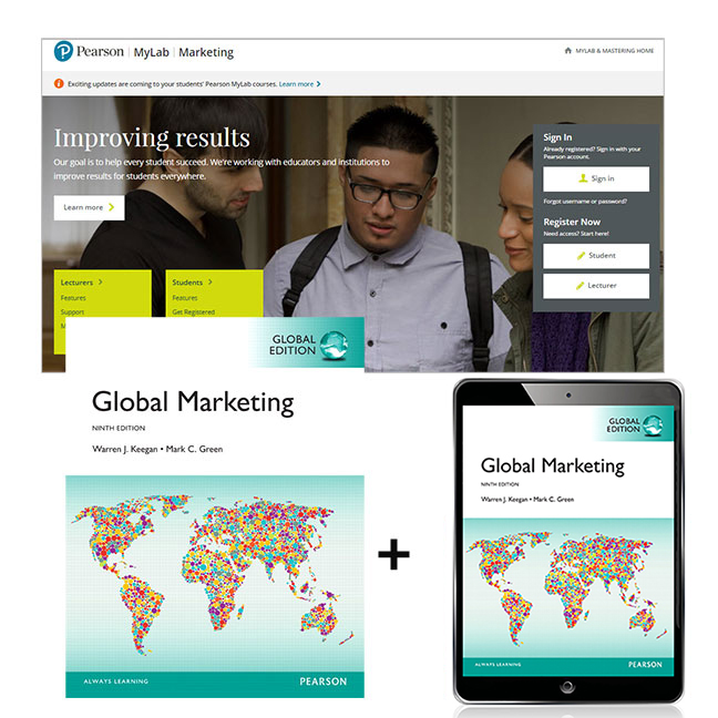 Global Marketing, Global Edition + MyLab Marketing with eText
