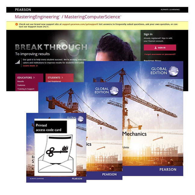 Value Pack Engineering Mechanics: Statics Global Edition + Study Pack, SI Edition + Modified MasteringEngineering with eText