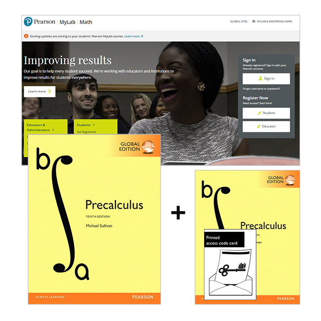 Precalculus, Global Edition + MyLab Math with eText