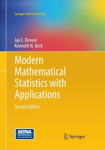Modern Mathematical Statistics with Applications, 2e