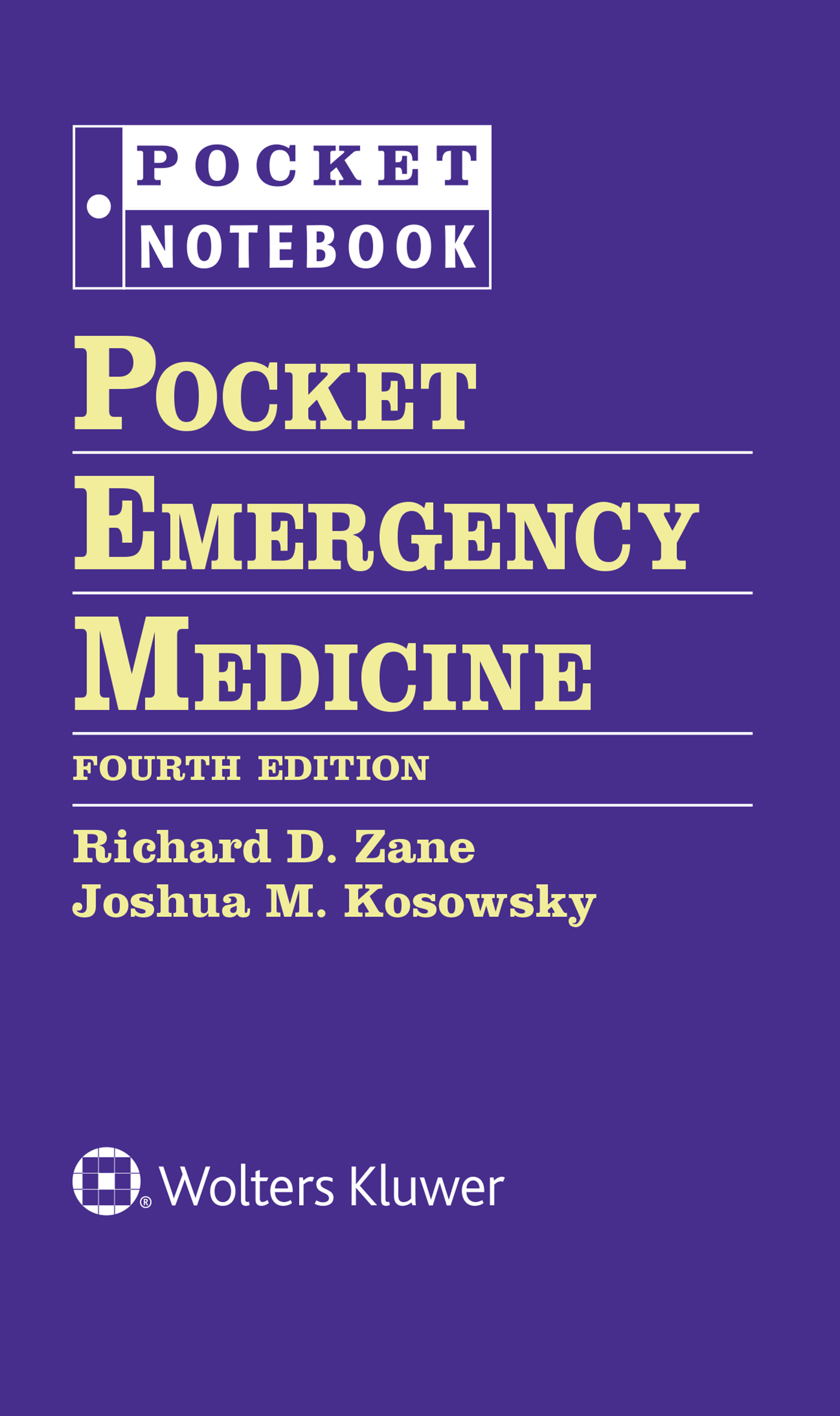 Pocket Emergency Medicine                                       Pocket Notebook Series