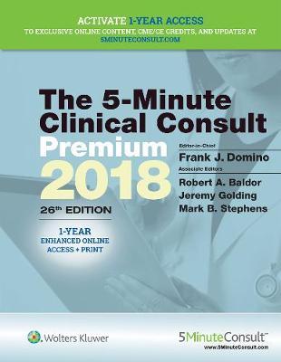 5-Minute Clinical Consult Premium 2018