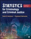 Statistics for Criminology and Criminal Justice 4ed