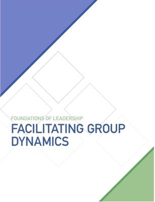 FACILITATING GROUP DYNAMICSPRE-WORK