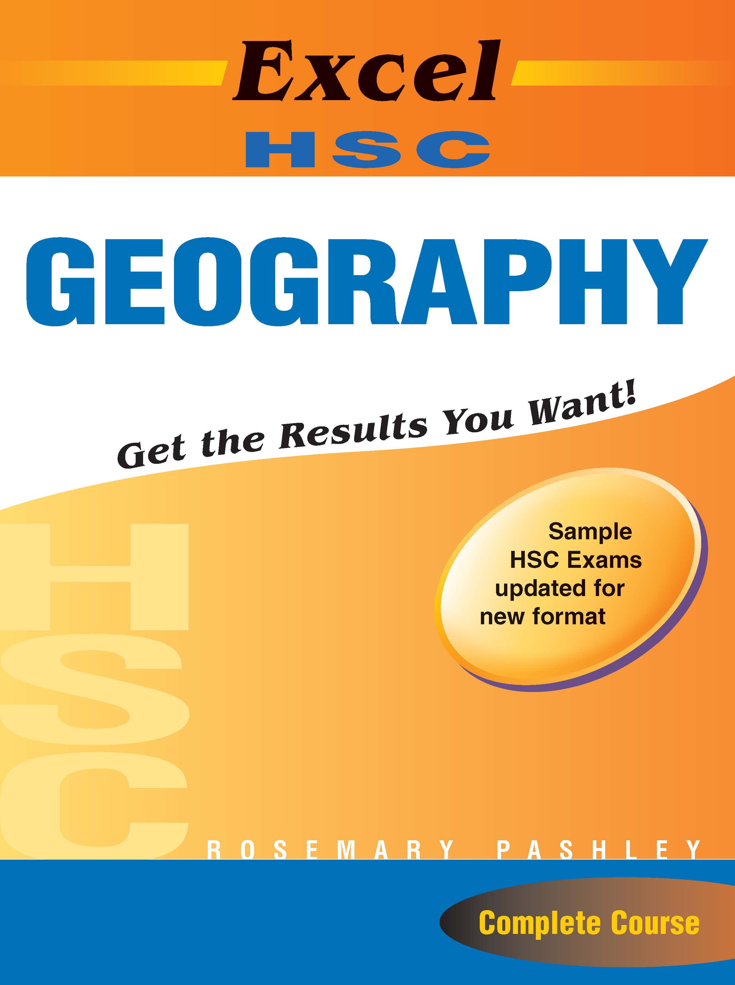 Excel Study Guide: HSC Geography (with HSC cards) Year 12