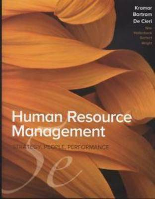 Human Resource Management in Australia 5th Edition