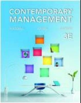 Contemporary Management 3rd Edition