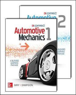 Automotive Mechanics, Volumes 1 & 2, Blended Learning Package