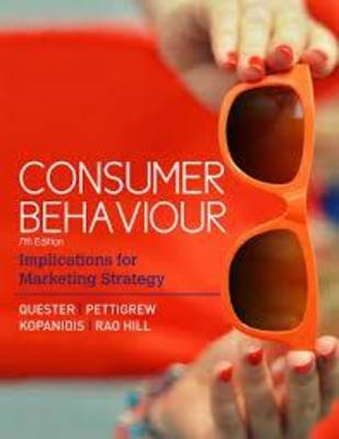 Consumer Behaviour Implications for Marketing Strategy 7th Edition