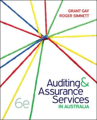 Pack Auditing & Assurance Services in Australia 6th Edition (includes Print, Connect, Learnsmart)