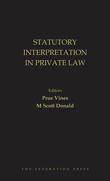 Statutory Interpretation in Private Law