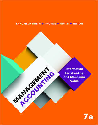 PACK MANAGERIAL ACCOUNTING