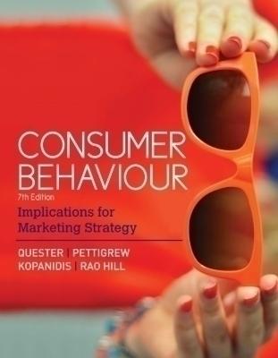 Consumer Behaviour, 7th Edition
