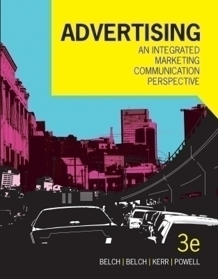 Advertising: an integrated marketing communication perspective, 3rd Edition