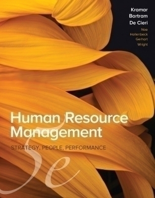 Human Resource Management in Australia, 5th Edition