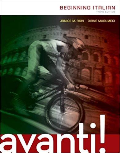EP AVANTI: BEGINNING ITALIAN 4E + CNCT (24 month Subscription)