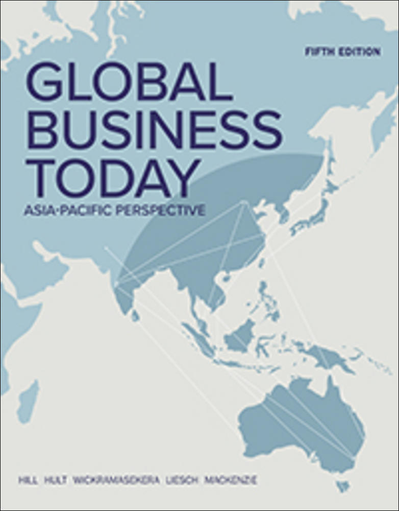 Global Business Today: Asia-Pacific Perspective (Pack-includes Connect)