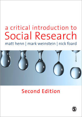 Critical Introduction to Social Research 2ed