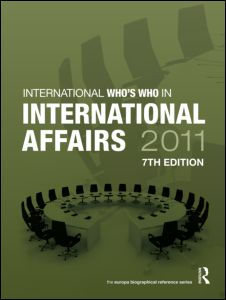 Who's Who in International Affairs 2011