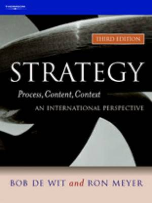 Strategy: Process, Content, Context