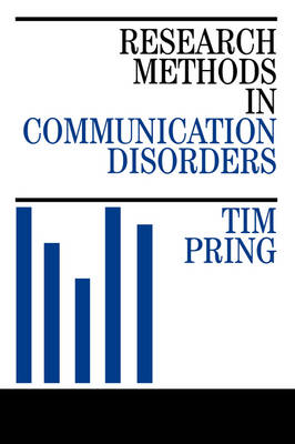Research Methods in Communication Disorders