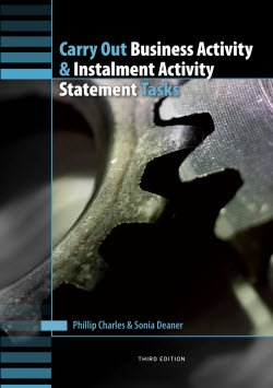 Carry Out Business Activity and Instalment Activity Statement Tasks