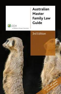 Australian Master Family Law Guide: Book Code 39050A