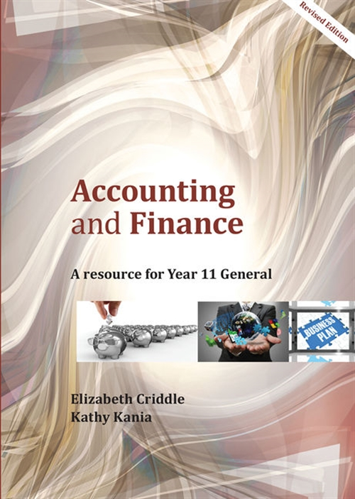 Accounting and Finances Year 11 General