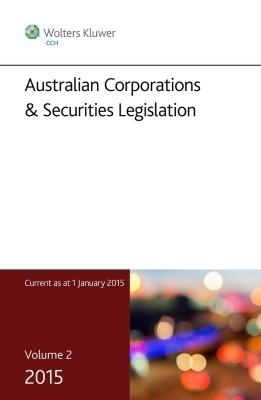 Australian Corporations & Securities Legislation, Vol 2
