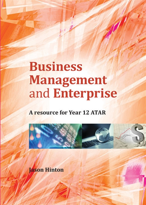 Business Management and Enterprise: Year 12 ATAR
