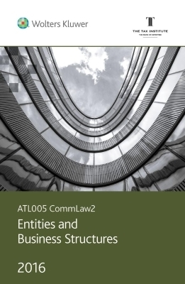 CommLaw2 - Entities and Business Structures: Commentary