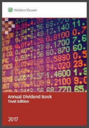 Annual Dividend Book - Trust 2017