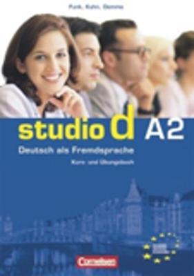Studio D A2 Kurs Uebungsbuch + Cd Audio Lessons 1-12