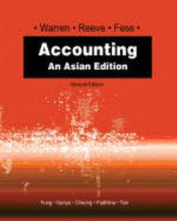 Accounting : An Asian Edition