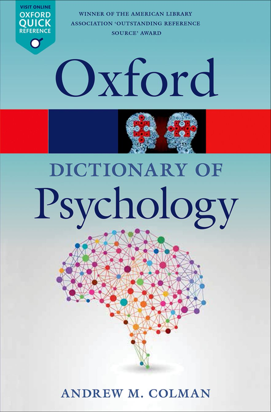 A Dictionary of Psychology