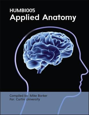 Custom Applied Anatomy 1E + Human Anatomy CNCT 5E HUMB1005