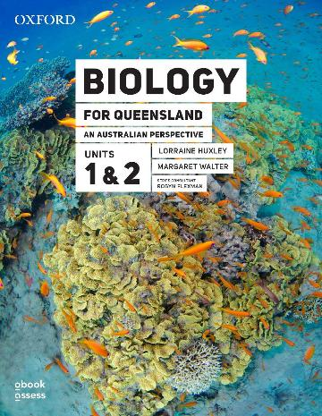 Biology for QLD an Australian Perspective Units 1&2 3E Student book+obook assess