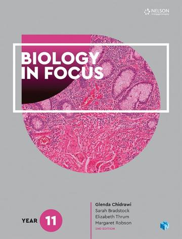 Biology in Focus Year 11 Student Book with 4 Access Codes