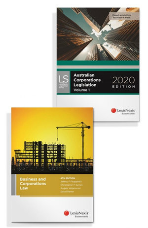 Business and Corporations Law, 4th edition and Australian Corporations Legislation 2020 (Bundle)