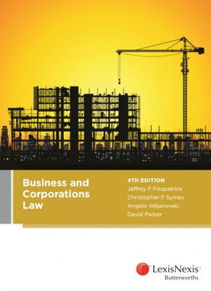 Business and Corporations Law, 4th edition