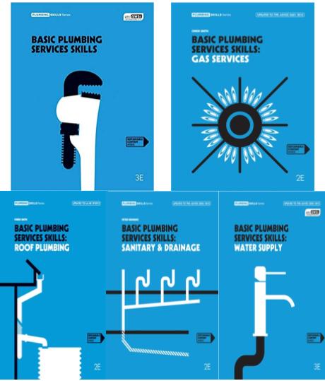 Bundle: Basic Plumbing Service Skills + Basic Plumbing Services Skills:  Water Supply + Basic Plumbing Services Skills: Sanitary/Drainage + Basic Plumbing Services Skills: Gas Services + Basic Plumbing Services Skills: Roof Plumbing