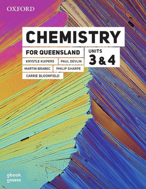 Chemistry for Queensland Units 3&4 Student book + obook assess