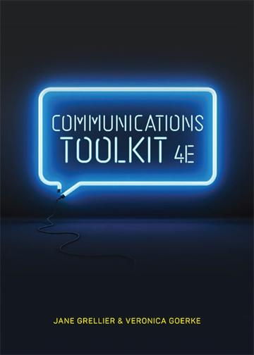 Communications Toolkit 4e with Online Study Tools 12 months