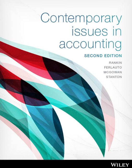 EBOOK Contemporary Issues in Accounting 2e (Customised)