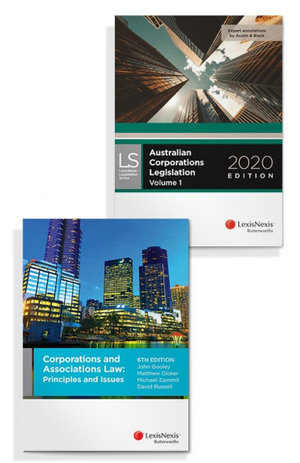 Corporations and Associations Law: Principles and Issues, 6th edition and Australian Corporations Legislation 2020 (Bundle)